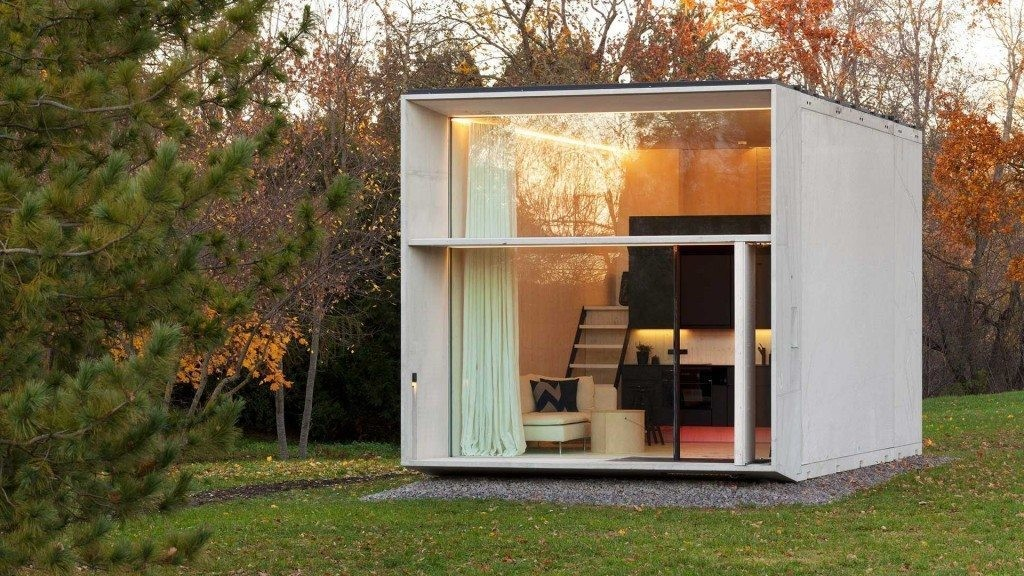 KODA, the movable concrete house by Kodasema