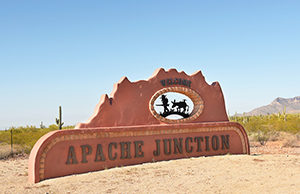Apache Junction Self Storage Sign